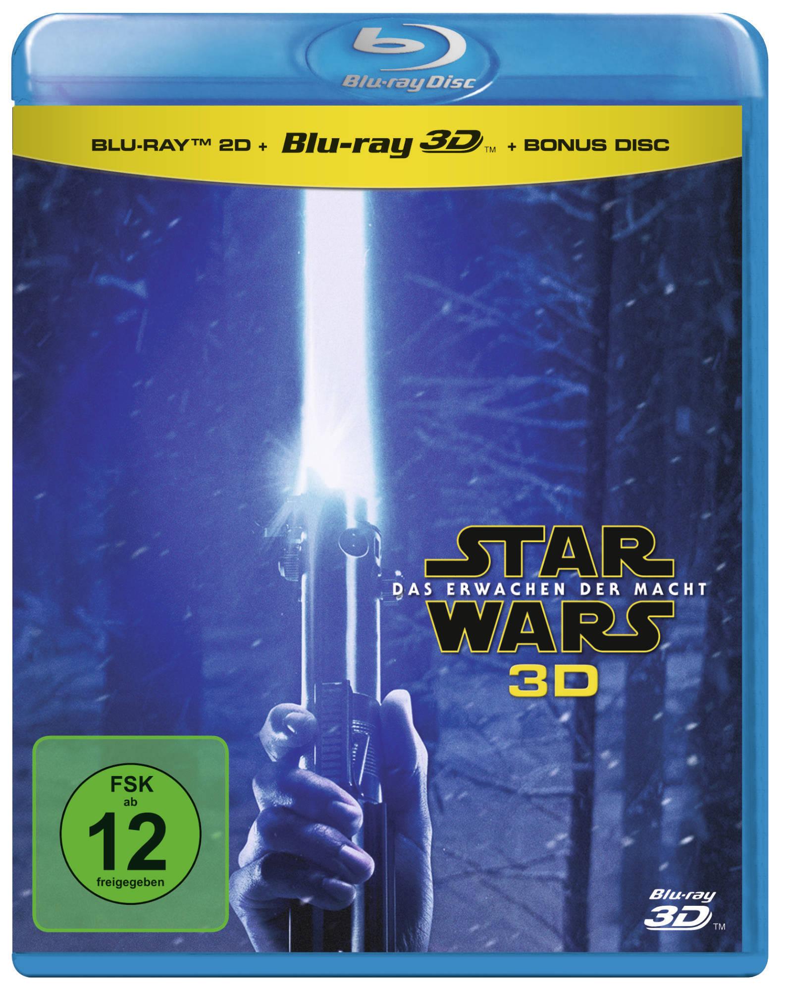 Star Wars Das Erwachen Der Macht Blu Ray 3d