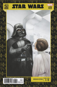 Star Wars #28 (Meghan Hetrick Star Wars 40th Anniversary Variant Cover) (01.02.2017)