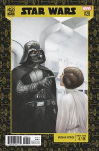 Star Wars #28 (Meghan Hetrick Star Wars 40th Anniversary Variant Cover) (01.02.2017)