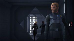 """Unverhoffte Hilfe erhalten die Rebellen in """"Die imperiale Flugakademie"""" von Agent Kallus."""