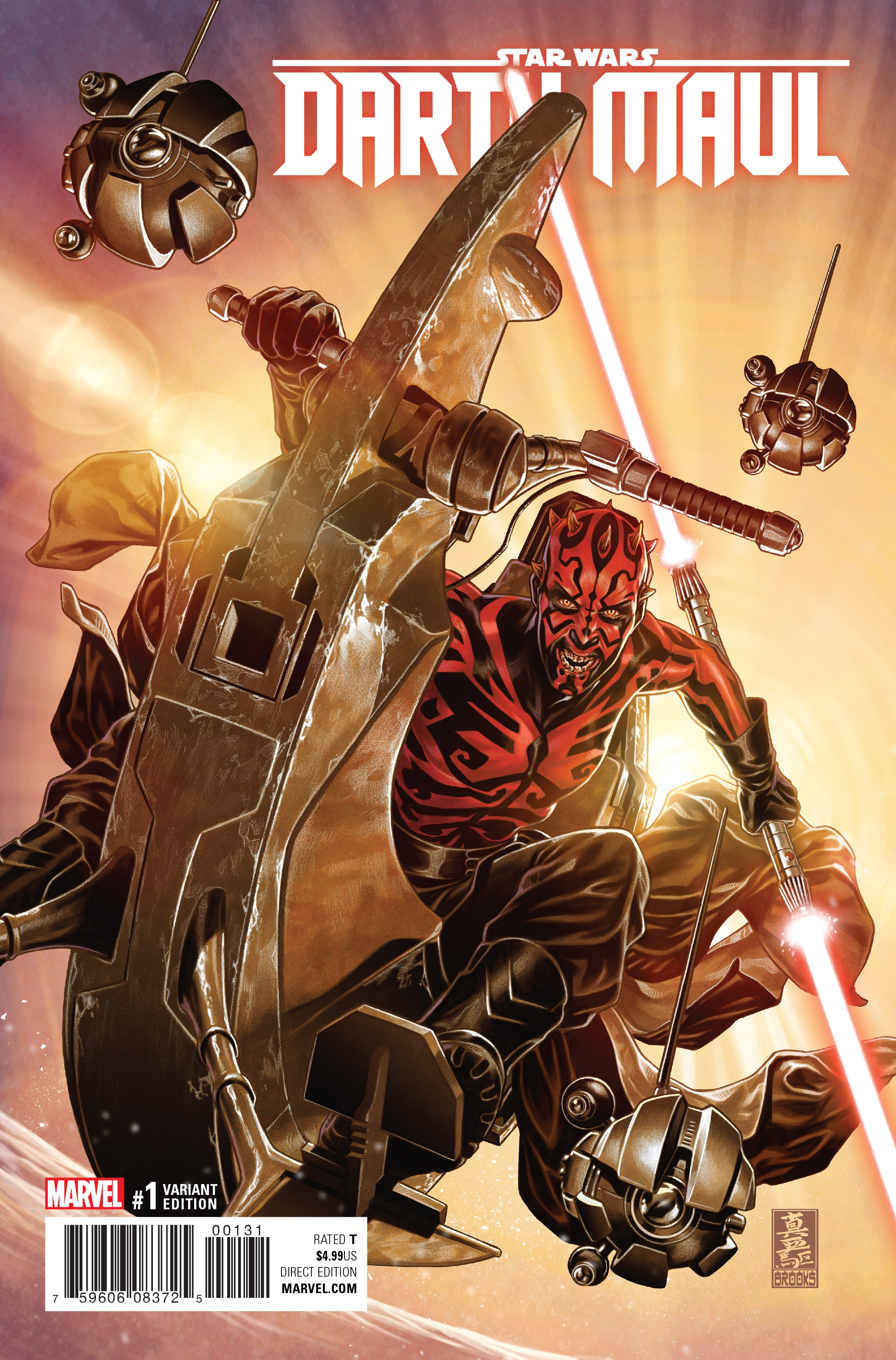Darth Maul #1 (Mark Brooks Variant Cover) (01.02.2017)