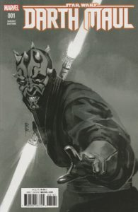 Darth Maul #1 (Rod Reis Sketch Variant Cover) (01.02.2017)