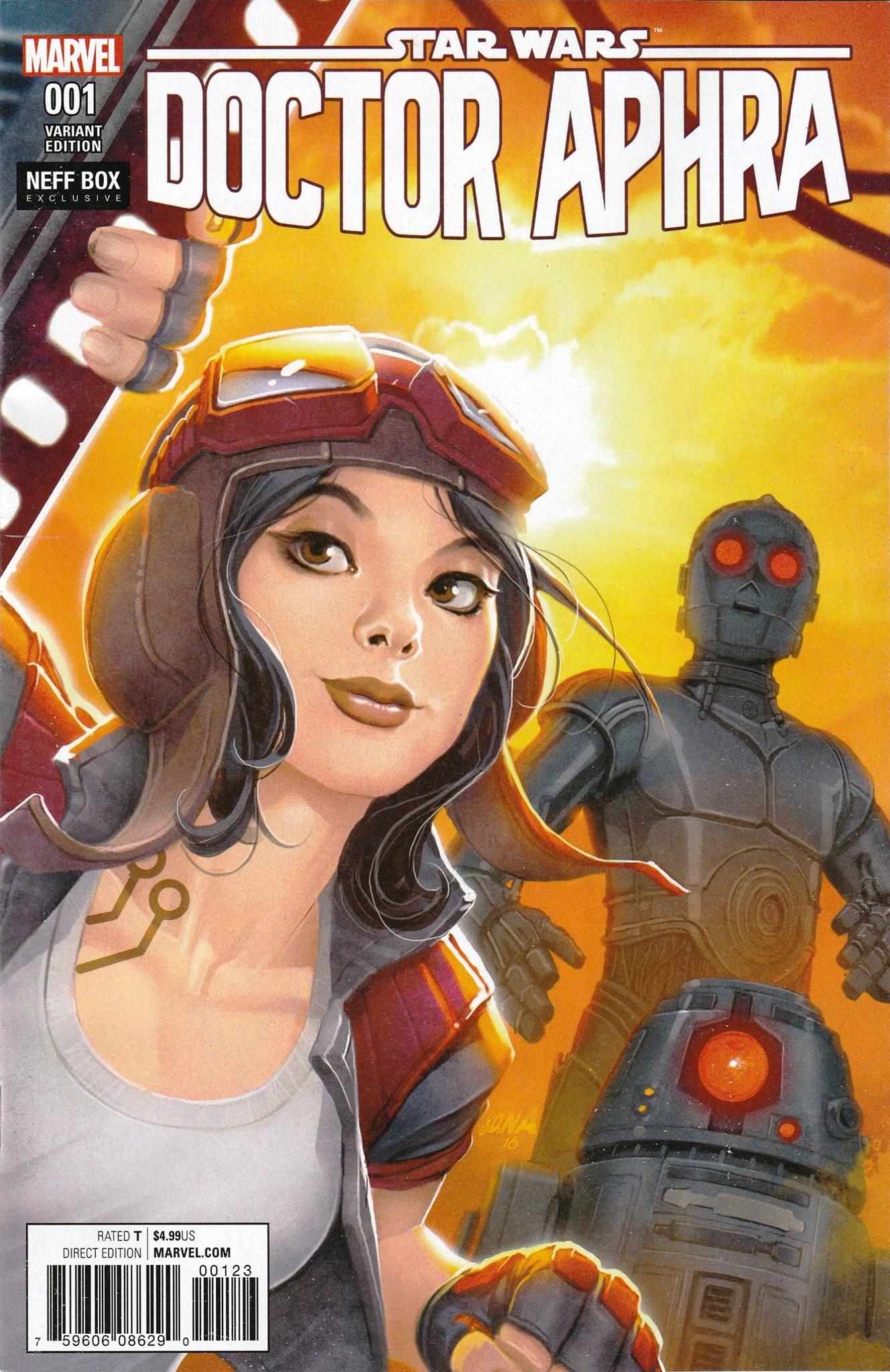 Doctor Aphra #1 (David Nakayama NEFF Box Variant Cover) (07.12.2016)