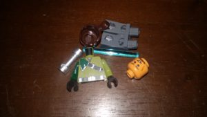 LEGO Star Wars Magazin #19 - Kanan Jarrus - Bauteile