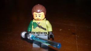LEGO Star Wars Magazin #19 - Kanan Jarrus - Minifigur ernstes Gesicht