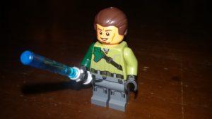 LEGO Star Wars Magazin #19 - Kanan Jarrus - Minifigur lächelndes Gesicht