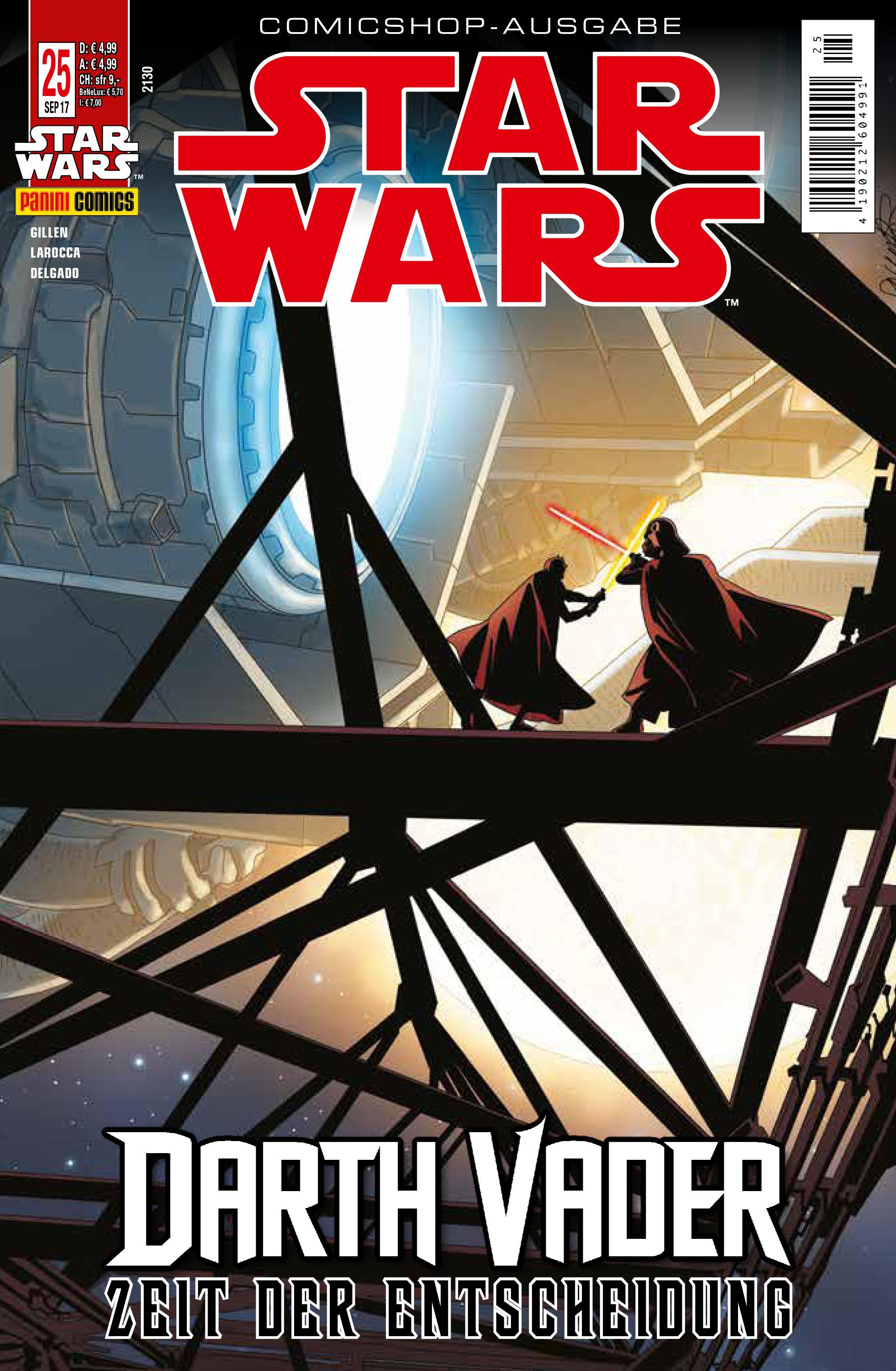Star Wars #25 (Comicshop-Ausgabe) (23.08.2017)