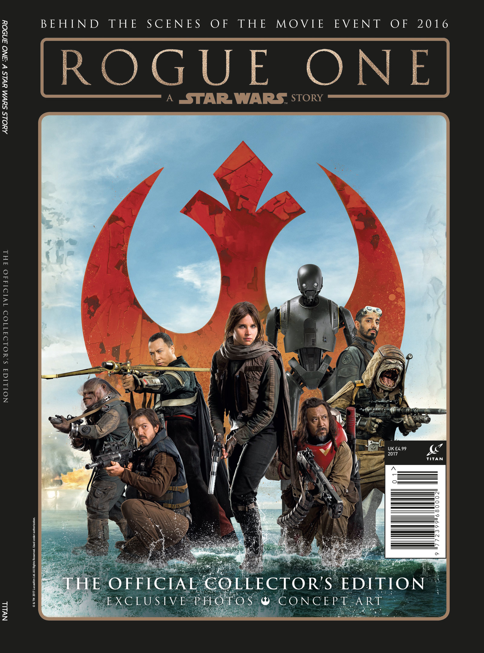 Rogue One: A Star Wars Story - Official Collectors Edition (20.12.2016)