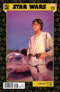 Star Wars #29 (Kevin Wada Star Wars 40th Anniversary Variant Cover) (März 2017)