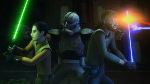 """In """"Die Rückkehr der Kampfdroiden"""" müssen Kanan und Rex nochmals in den Klonkriegen kämpfen."""