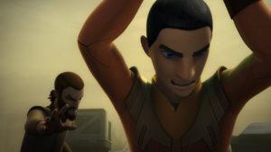 """Erza tötet aufgrund seiner """"Düsteren Visionen"""" beinahe einen Rebellensoldaten."""