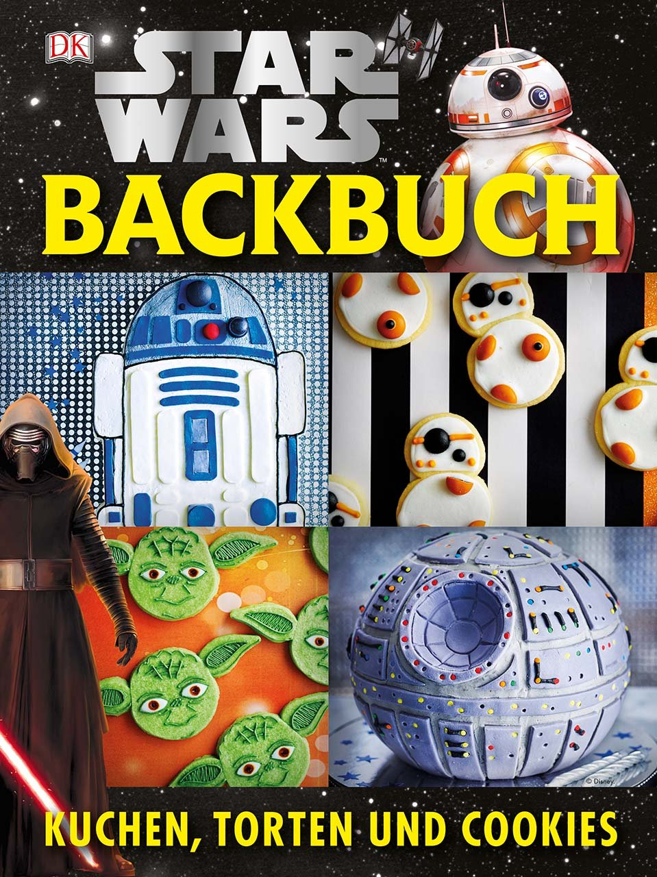 rezension star wars backbuch kuchen torten und cookies jedi bibliothek. Black Bedroom Furniture Sets. Home Design Ideas