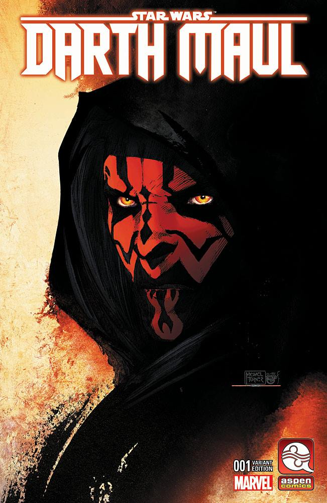 Darth Maul #1 (Michael Turner AspenComics.com Variant Cover) (01.02.2017)