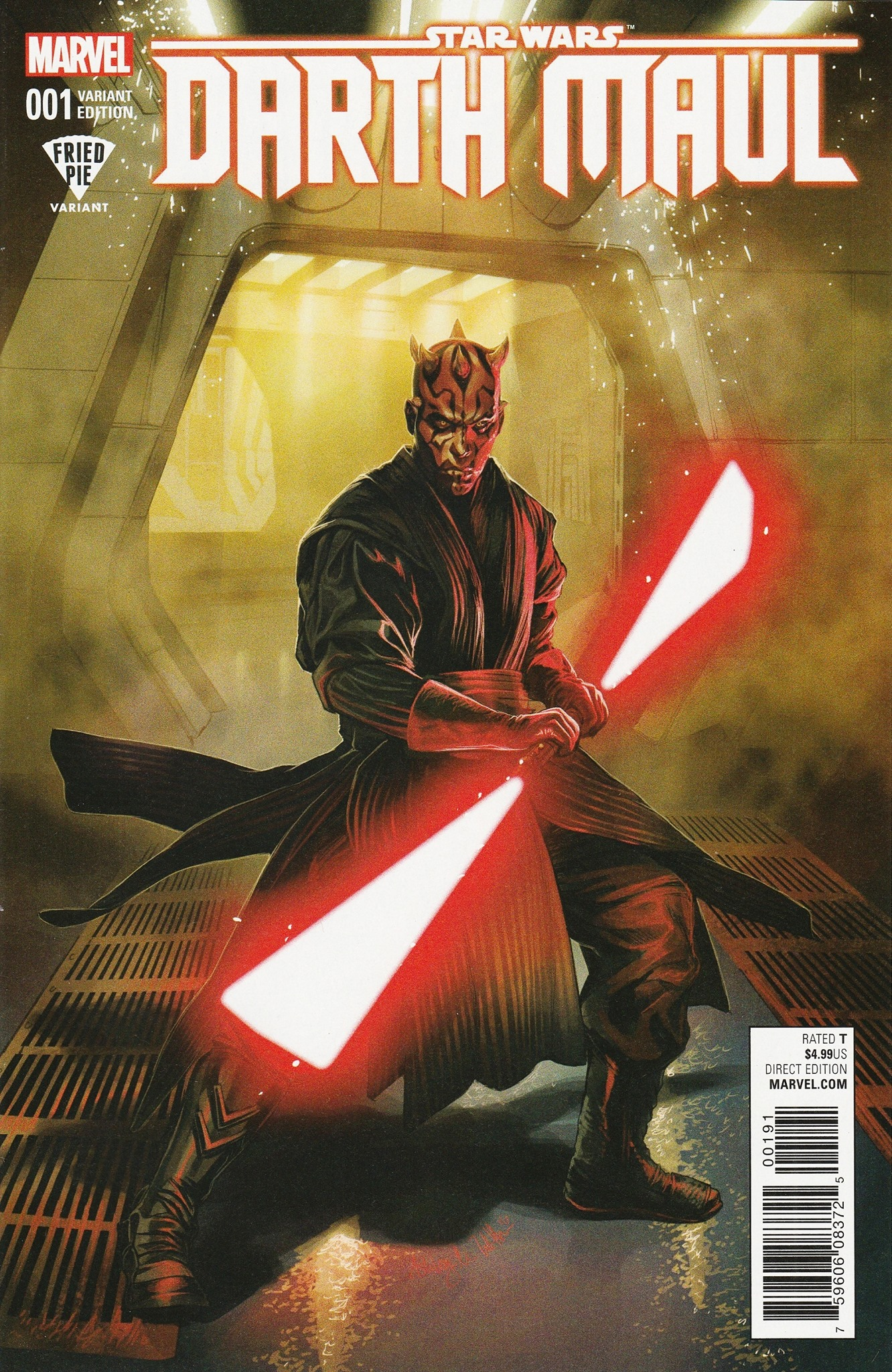 Darth Maul #1 (Ashley Witter Fried Pie Comics Variant Cover) (01.02.2017)