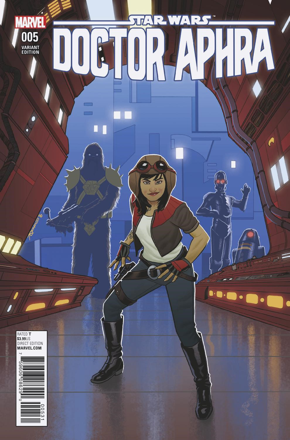 Doctor Aphra #5 (Joe Quinones Variant Cover) (08.03.2017)
