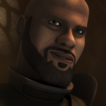 "Saw Gerrera in ""Ghosts of Geonosis"""