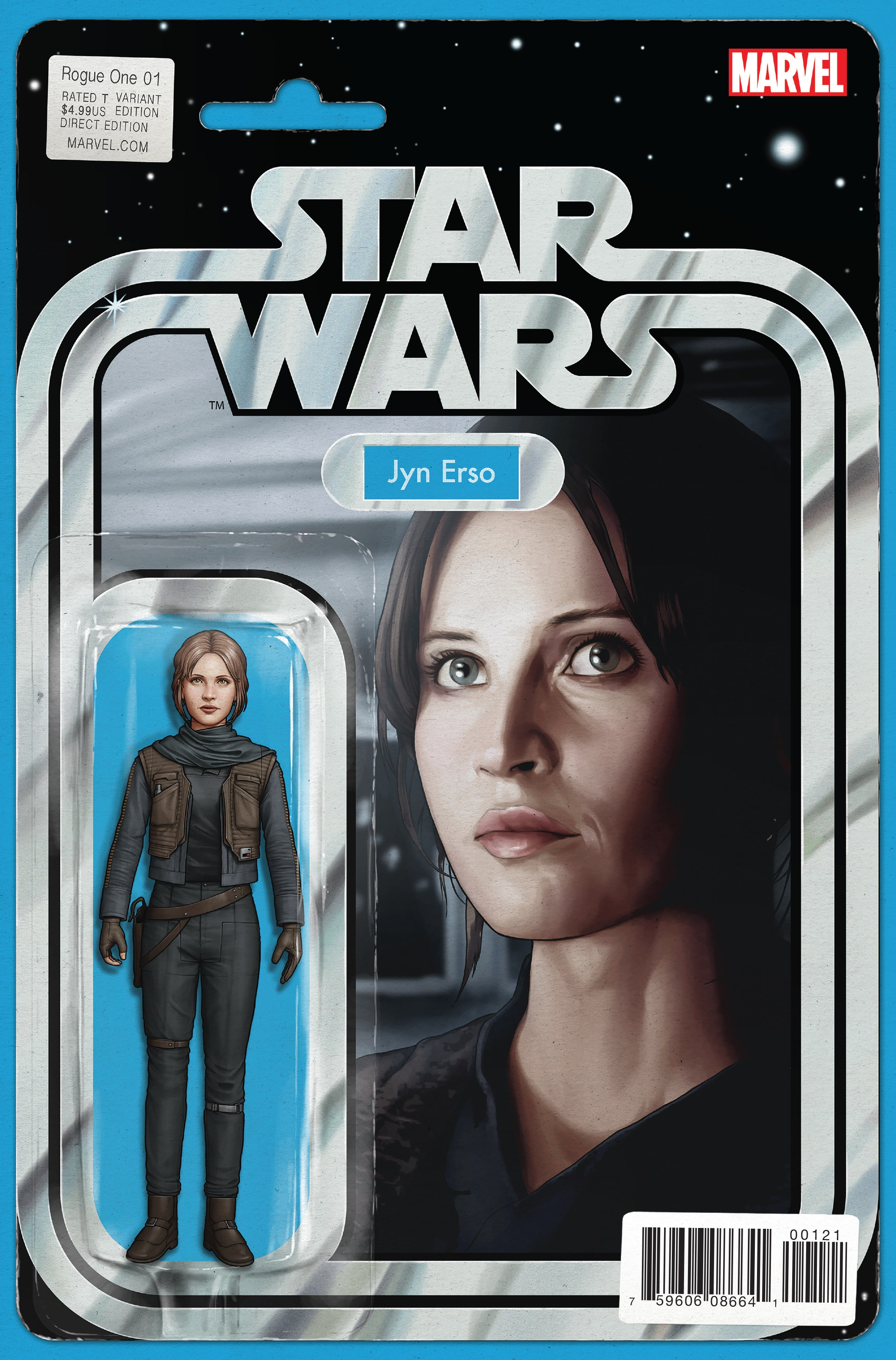 Rogue One #1 (Action Figure Variant Cover) (April 2017)