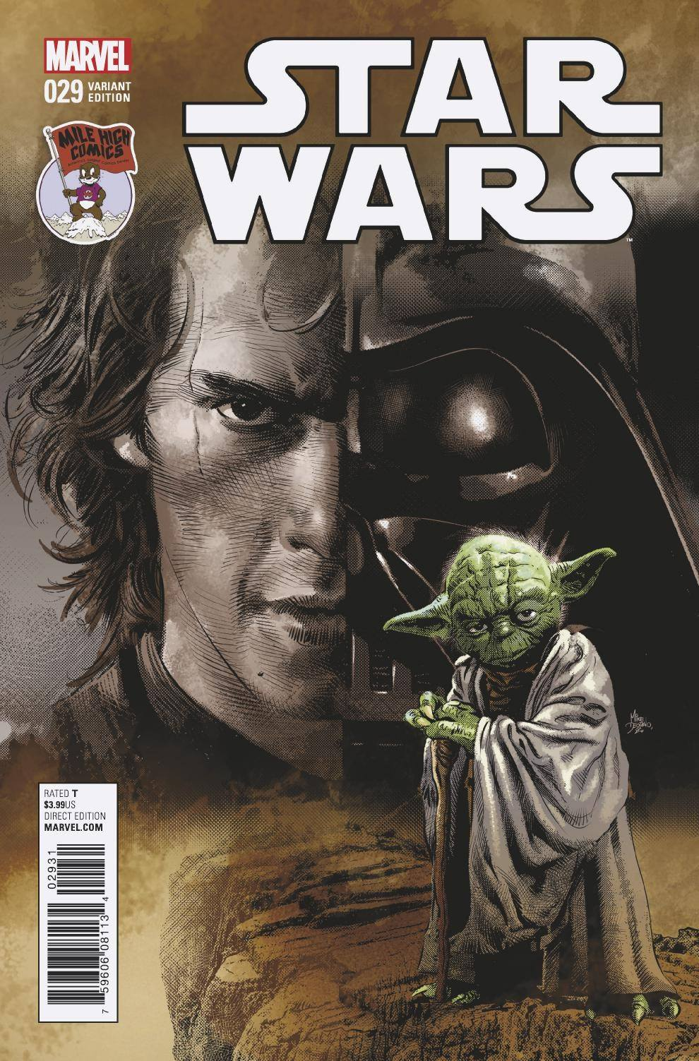 Star Wars #29 (Mike Deodato Mile High Comics Variant Cover) (01.03.2017)