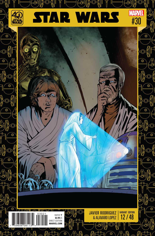 Star Wars #30 (Javier Rodriguez Star Wars 40th Anniversary Variant Cover) (05.04.2017)