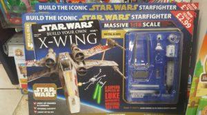"""Das erste Foto der """"Build Your Own X-Wing""""-Testreihe"""