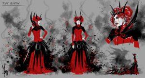 Die Königin der Zitadelle (Konzept 1)
