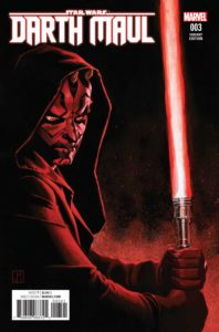 Darth Maul #3 (Jorge Molina Variant Cover) (26.04.2017)