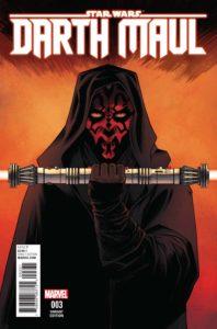 Darth Maul #3 (Declan Shalvey Variant Cover) (26.04.2017)