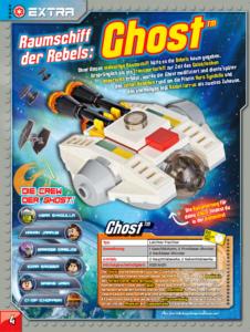 LEGO Star Wars Magazin #20 - Vorschau Seite 4
