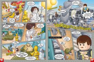 LEGO Star Wars Magazin #20 - Vorschau Seiten 10 und 11
