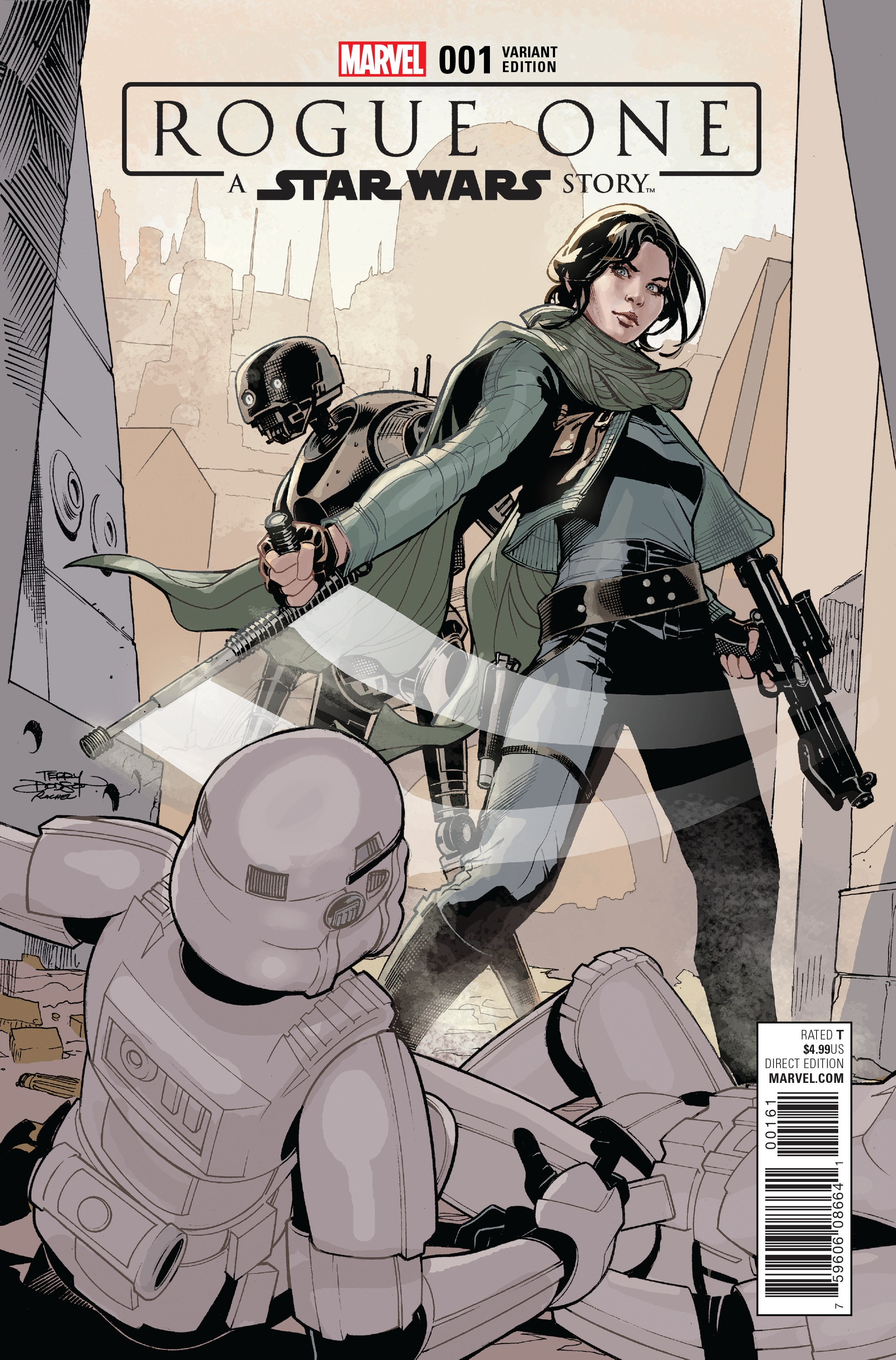 Rogue One #1 Terry Dodson Variant