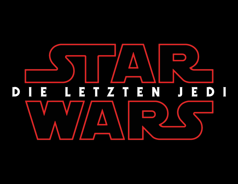 <em>Die letzten Jedi</em> Logo