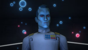 In <em>Through Imperial Eyes</em> beweist Thrawn sein strategisches Geschick.