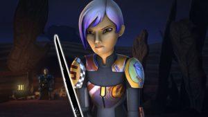 Sabine muss ihre neue Rolle in<em>Trials of the Darksaber</em> akzeptieren und annehmen.