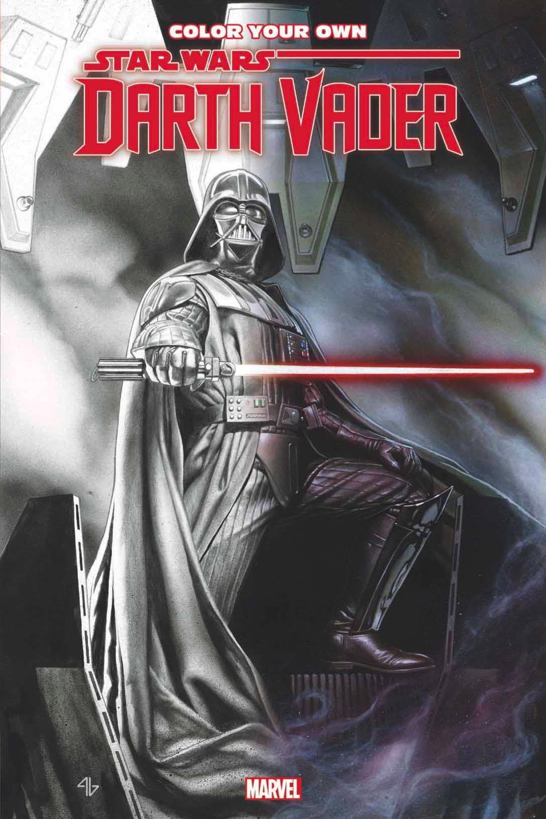 Marvel veröffentlicht im September ein Darth Vader-Comic-Malbuch ...