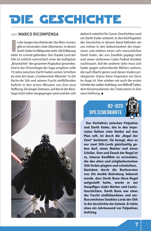 Star Wars Comic-Kollektion, Band 9: Darth Vader und das verlorene Kommando - Bonusmaterial 1
