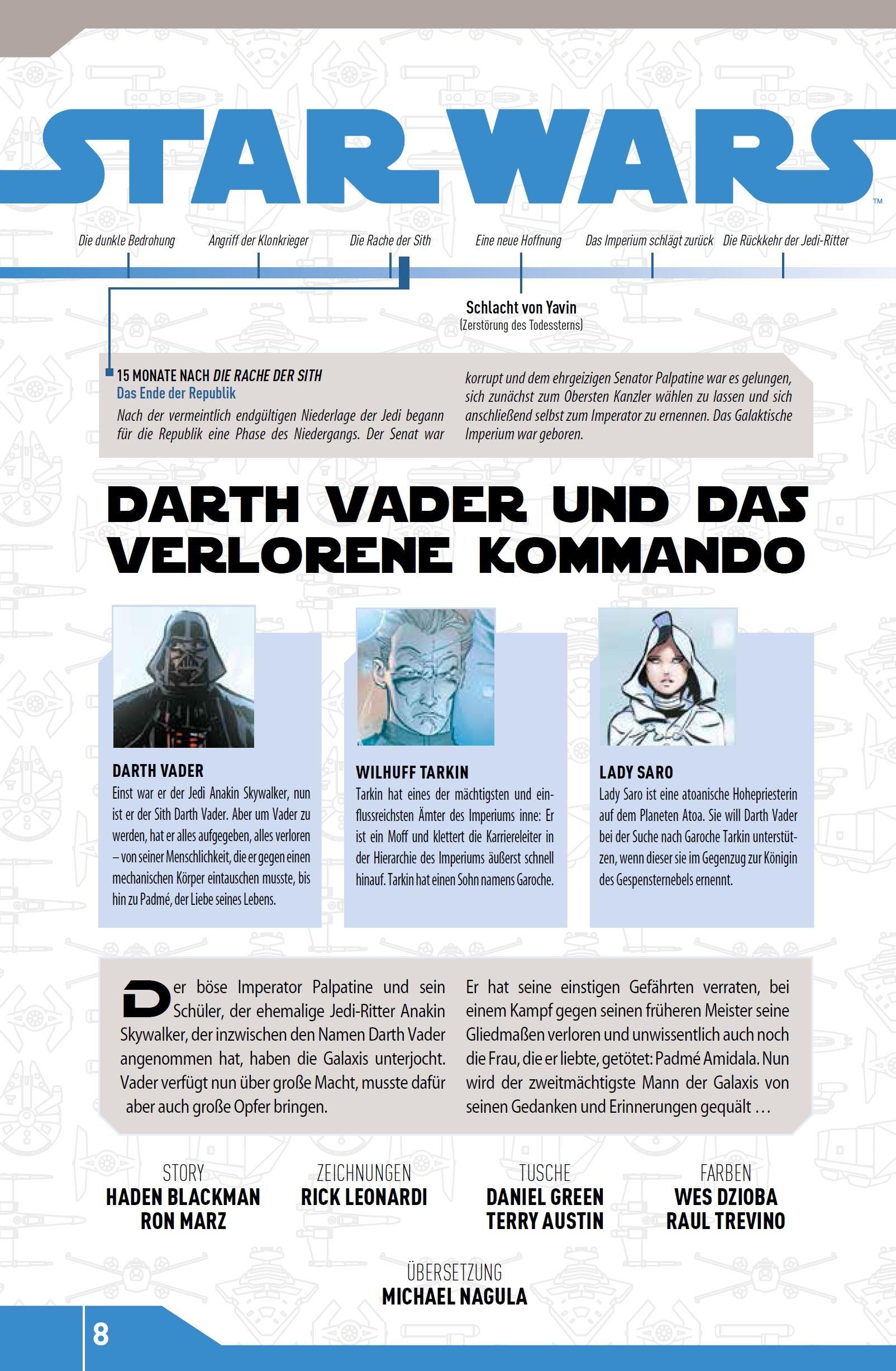 Star Wars Comic-Kollektion, Band 9: Darth Vader und das verlorene Kommando - Bonusmaterial 2