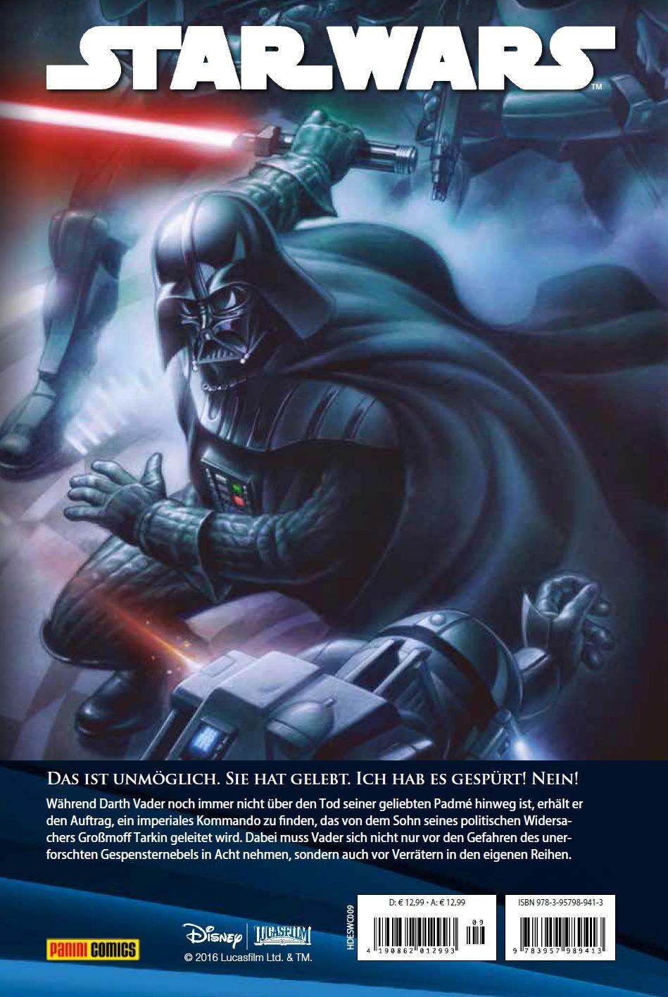 Star Wars Comic-Kollektion, Band 9: Darth Vader und das verlorene Kommando - Cover Rückseite