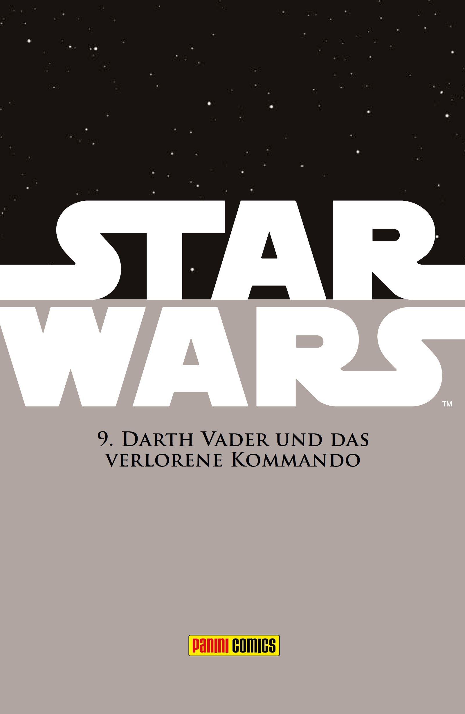 Star Wars Comic-Kollektion, Band 9: Darth Vader und das verlorene Kommando - Vorschauseite 1