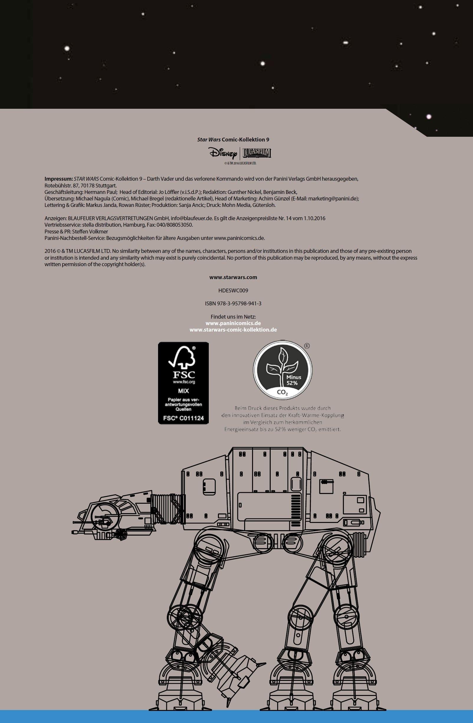 Star Wars Comic-Kollektion, Band 9: Darth Vader und das verlorene Kommando - Vorschauseite 2