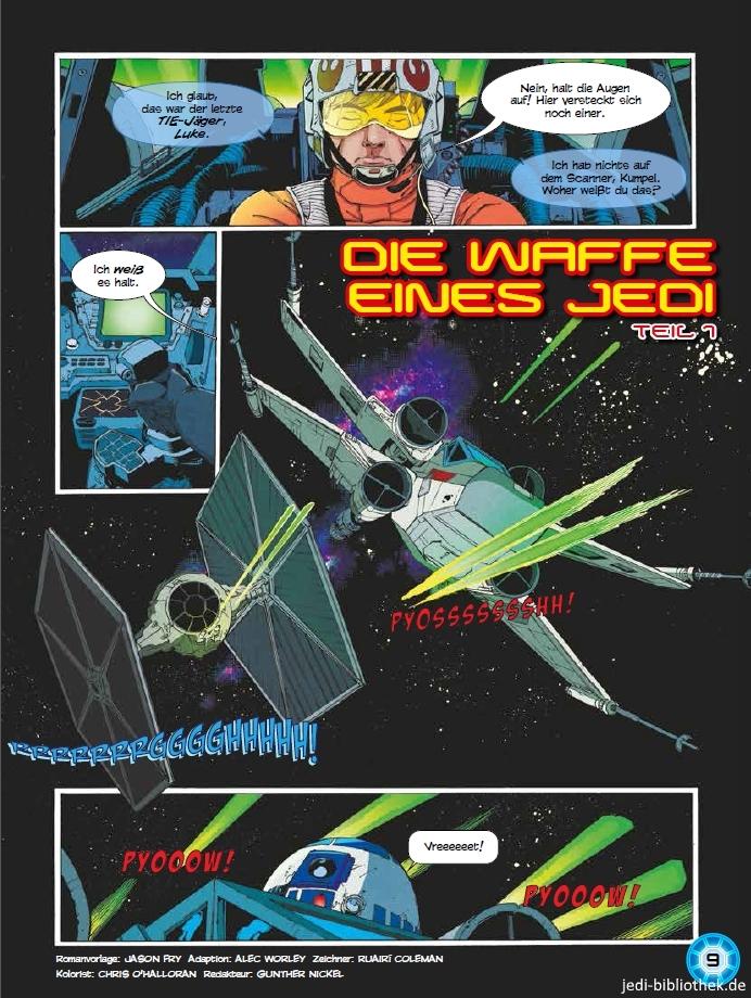 Die Waffe eines Jedi, Teil 1 - Seite 1