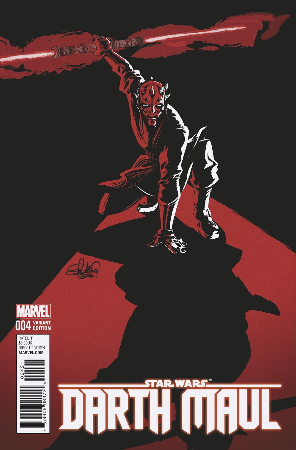 Darth Maul #4 (Elsa Charretier Variant Cover) (21.06.2017)