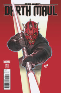 Darth Maul #4 (David Nakayama Variant Cover) (21.06.2017)