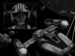 Grafik aus Die Waffe eines Jedi - Ein Luke Skywalker-Abenteuer