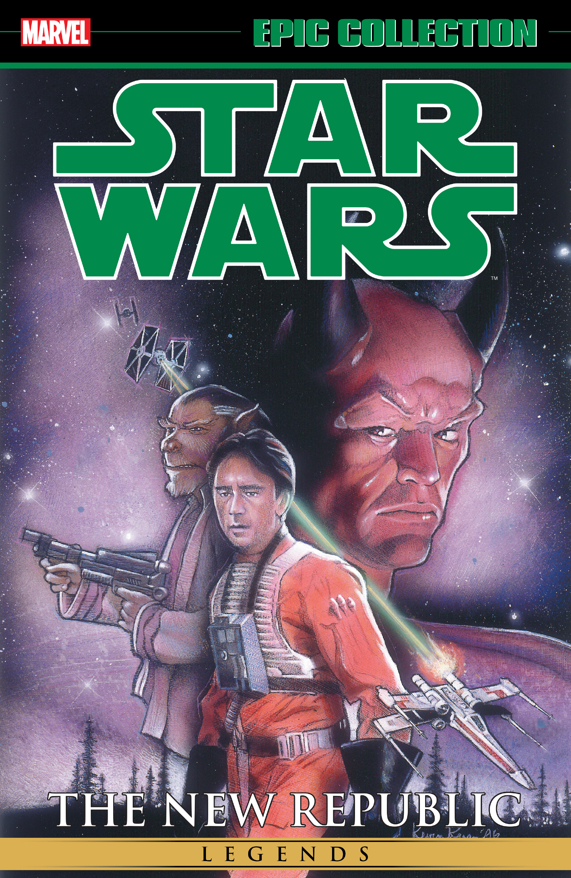Star Wars Legends Epic Collection: The New Republic Volume 3 (19.12.2017)q