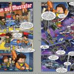 LEGO Star Wars Magazin #21 - Vorschau Seiten 22 und 23