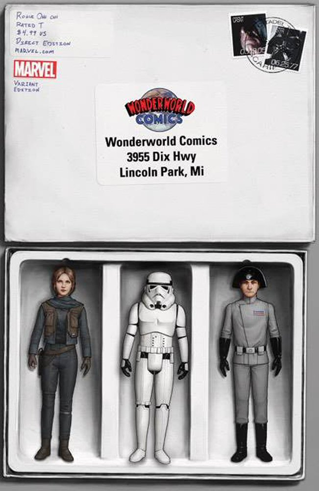 Rogue One #1 (John Tyler Christopher Wonderworld SWCO Variant Cover) (05.04.2017)