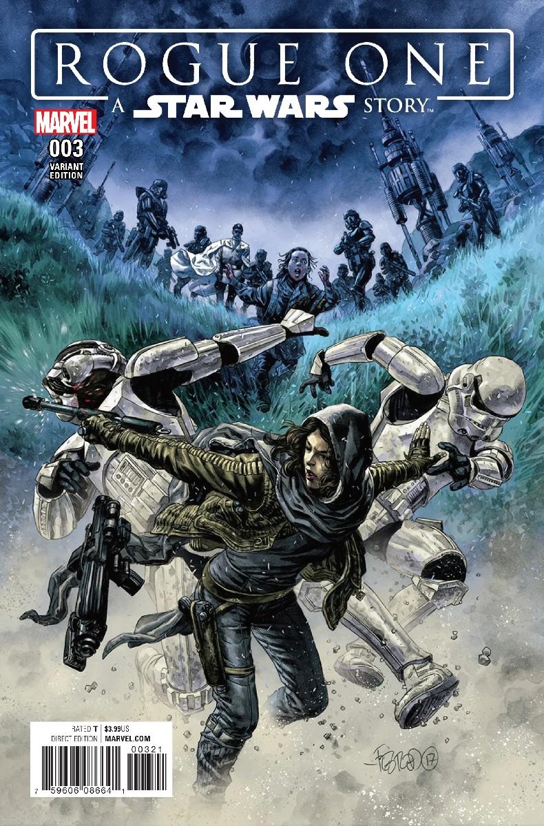 Rogue One #3 (Duncan Fegredo Concept Variant Cover) (07.06.2017)
