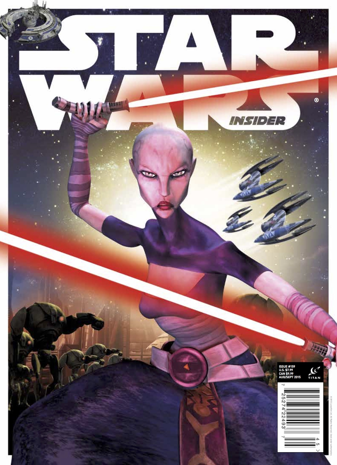 Star Wars Insider #159 (Comic Store Cover)