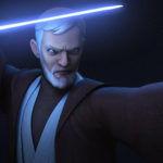 Obi-Wan bereit zum Kampf gegen Maul in Twin Suns