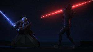 In <em>Twin Suns</em> kommt es zur Konfrontation zwischen Maul und Obi-Wan.